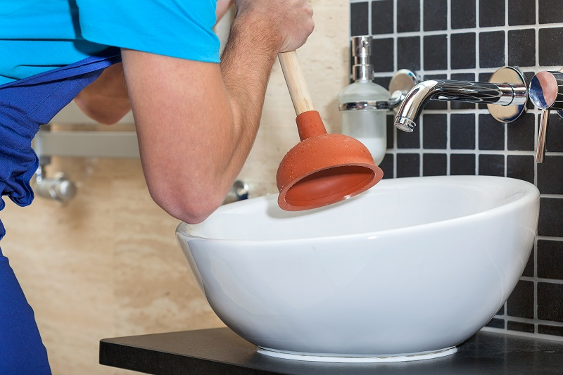 Unclogging Hand Sinks in Residential Locations